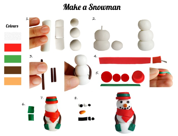 Do your own snowmen