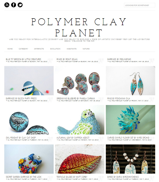 Polymer Clay Planet