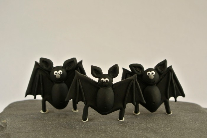 Bat brooches, inspired by Almada de Negreiros' Fables