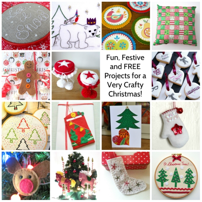 Lovey projects for the Crafty Christmas Tutorial Link-Up