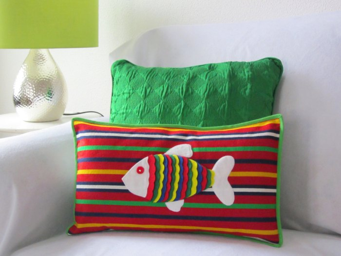 Fish pillow. Image credits by Ema's Corner