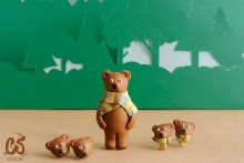 Bear collection - Grizzly bear series