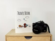 Travel book with squirrels. Image credits by Nuts for Paper