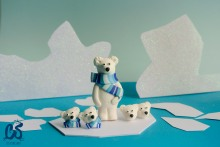 Bear collection, polar bear series