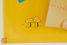 Toadstools blooming in the mail