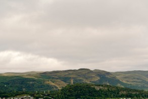 The William Wallace monument seen from the castle