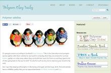 Adélie Penguins on Polymer Clay Daily