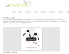 UK Handmade Winter Showcase