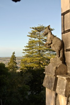 Mythical creatures at Quinta da Regaleira