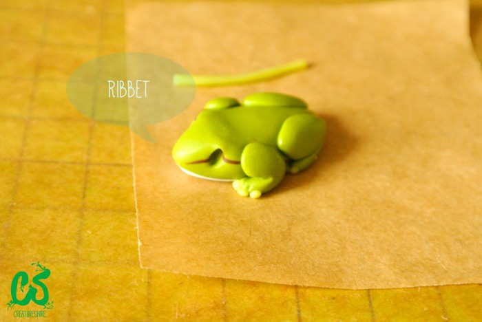 The European tree frog brooch