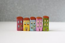 Little Italian clay houses by Rodica. Image credits by Rodica.